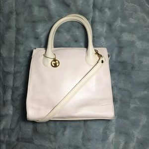 Gianni Bernini handbag purse blush pink